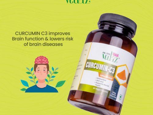 CURCUMIN C3 Herbal Veg Capsules