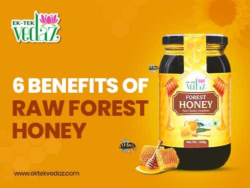 raw forest honey